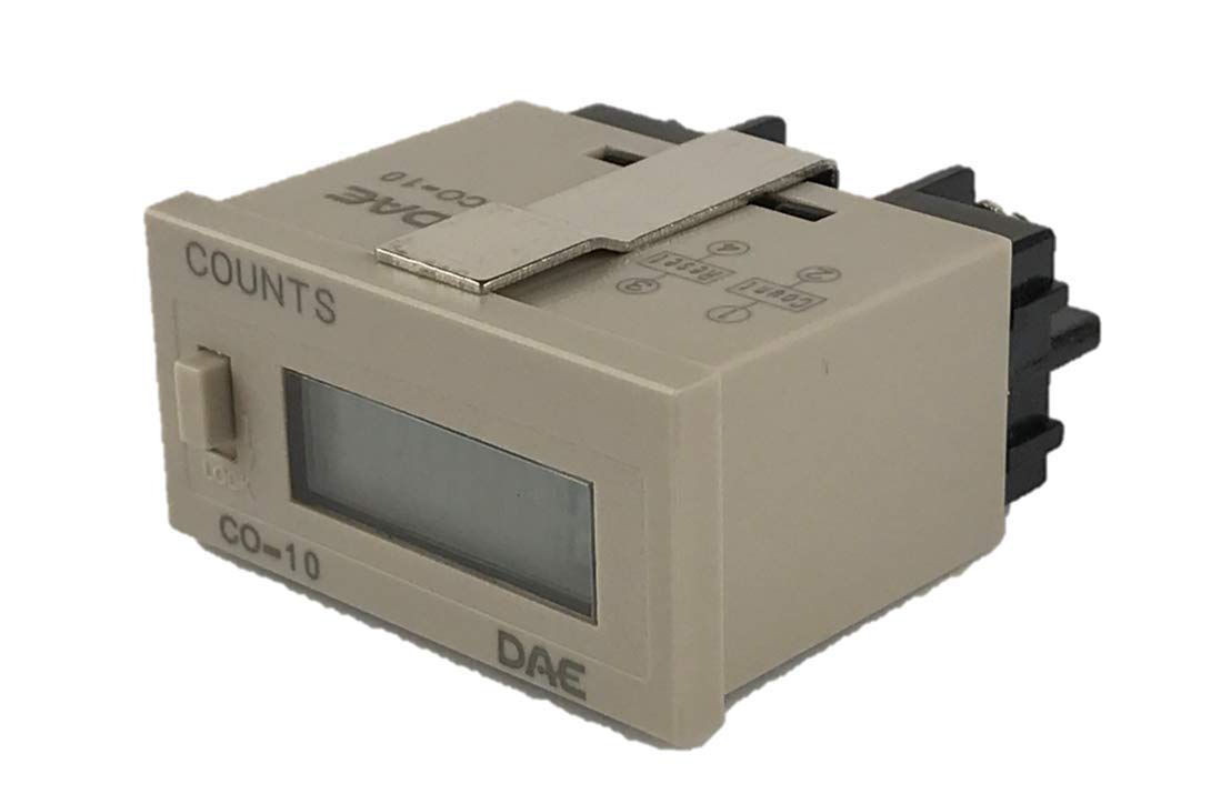 DAE CO-10 Electronic Pulse Counter (Updated Version of CL-6CL)