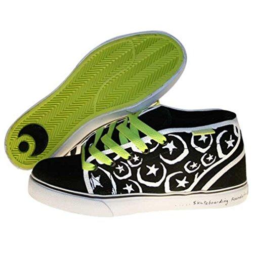 Osiris Skateboard Shoes Keefer Black/White/Foundation, Schuhgrösse:45