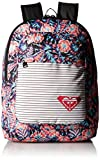 Roxy Big California Girls Backpack, Anthracite Tropical Dream, One Size