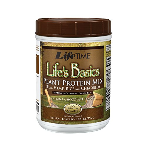 Lifetime Life's Basics Plant Protein Chocolate