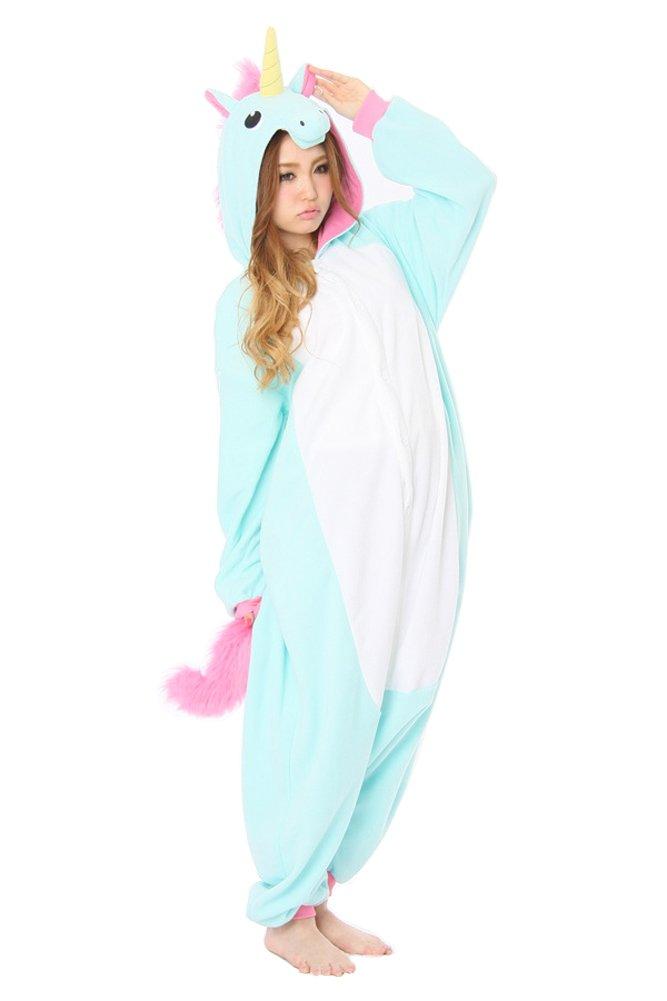 Cliont Animal Licorne Pijamas la Ropa de Noche del Traje del Anime de Cosplay Nightclothes de