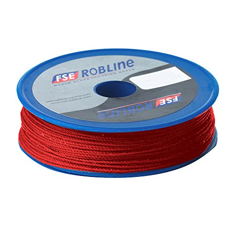 (Robline Waxed Tackle Yarn Whipping Twine - Red - 0.8mm x 80M [TY-08RSP])