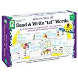 """Read & Write""""1st"""" Words: Write On/Wipe Off: A Multisensory Approach for Learning How to Read and Write the First 26 Words"""