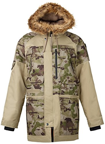 Burton Undefeated X Alpha Industries N-3B Parka Mens for sale  Delivered anywhere in USA