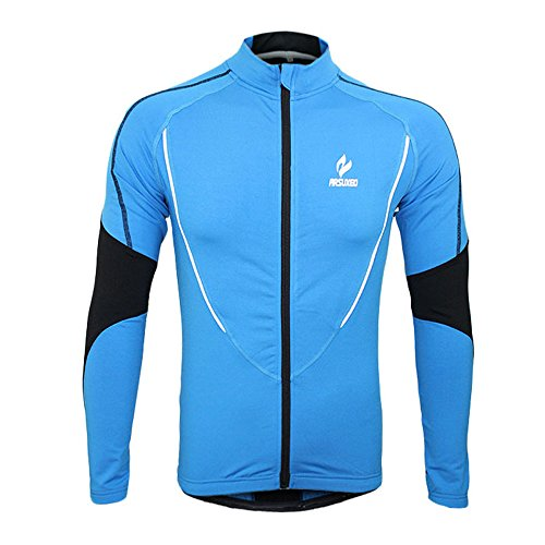 docooler Winter Warm Fleece Running Fitness Excercise Cycling Bike Bicycle Outdoor Sports Clothing Jacket Wear Wind Coat Long Sleeve Jersey