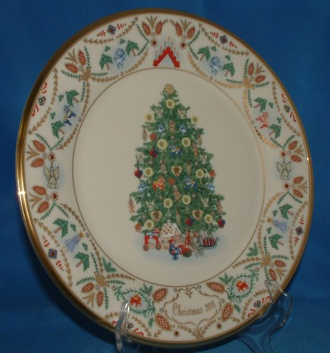 Lenox 2000 Christmas Trees Around the World Plate - Sweden by Lenox