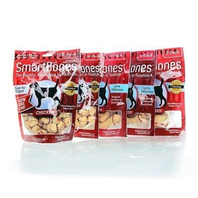 Smart Bone Smart Bone Chicken Bone Sb Chicken Mini 16Pk Treats & Chews