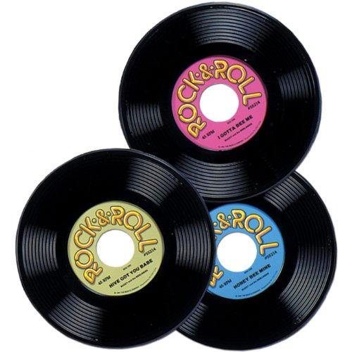 Plastic Records Party Accessory (1 count)