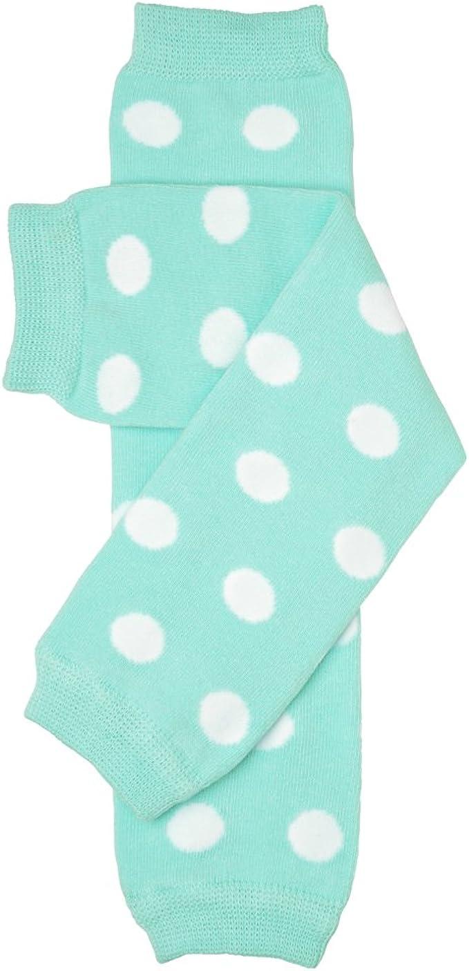juDanzy Red /& White Polka dot baby girl boy /& toddler leg warmers
