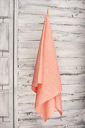 Green Foster Product Natural Soft Linen Flax Bath Towel, - Macys Hills Green