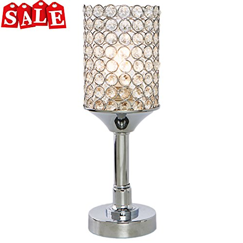 Crystal Noble Quality Elegant Crystal Lamp inlaid Superior Table Popilion small Lamp Round Y6gvybf7