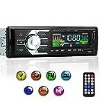 Kyпить Car Stereo with Bluetooth, Single Din Car Radio Receiver, Car MP3 Player/USB/SD/AUX/FM Radio with Wireless Remote Control на Amazon.com