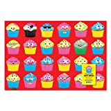 Accoutrements Cupcake Gift Wrap Paper - 2 Sheets
