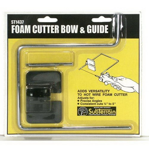 Foam Cutter Bow & Guide, Making Clean, Precise Cuts with No Mess