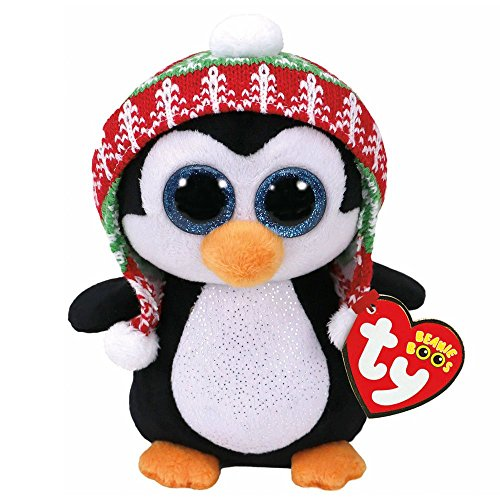 Ty Beanie Babies 37239 Boos Penelope the Christmas Penguin Boo (Penguin Christmas)