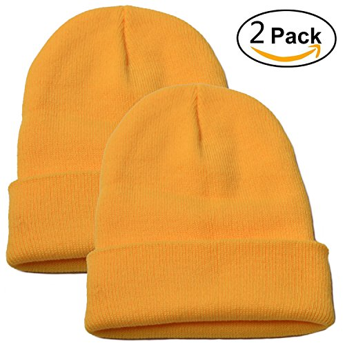 Woogw (Yellow Beanie Hat)