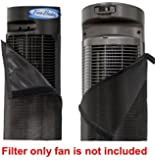 """PollenTec Hypoallergenic Fan Filter for Lasko 2554 42"""" Wind Curve Fan - Filters 98% Airborne Pollen, Dust, Mold Spores, Pet Dander - WASHABLE - Keeps your fan clean and lasting longer - MADE IN USA"""
