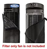 PollenTec Fan Filter Fits Perfect on the Seville Ultra Slim Tower Fan Keeps your fan clean and lasting longer effective at Filtering Airborne Pollen Dust Mold Spores Pet Dander Reusable WASHABLE