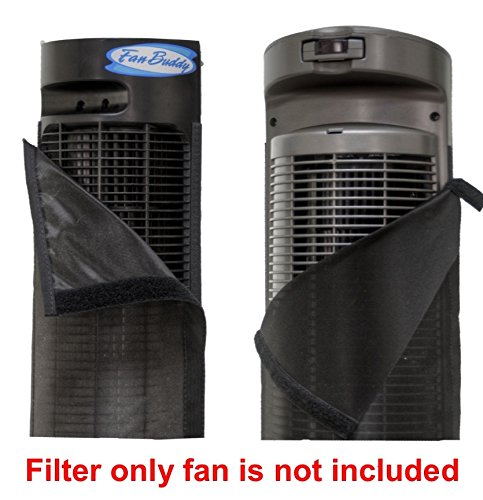 PollenTec Fan Filter Fits Perfect on the Seville Ultra Slim Tower Fan Keeps your fan clean and lasting longer effective at Filtering Airborne Pollen Dust Mold Spores Pet Dander Reusable WASHABLE by PollenTec