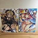 クリアファイル 二枚セット FGO Fate Grand Order 玉藻の前 エレシュキガル りいちゅ eterna-radiareの商品画像