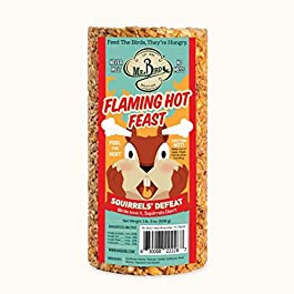 Mr. Bird Flaming Hot Feast Small Cylinder 19 oz.