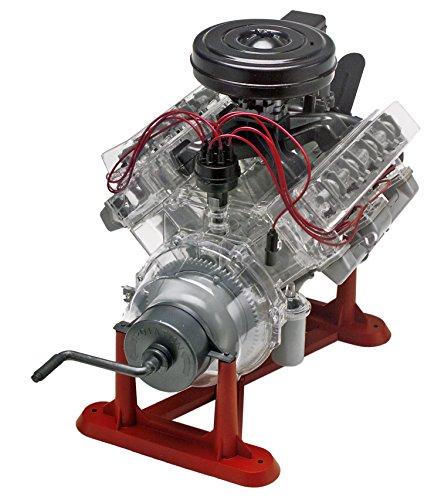 V8 Engine Kit: Revell 85-8883 1/4 Visible V-8 Engine Plastic Model Kit