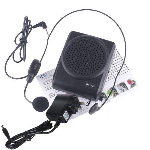 Andoer Mini 8 Multi Voice Changer Microphone Megaphone Loudspeaker]()