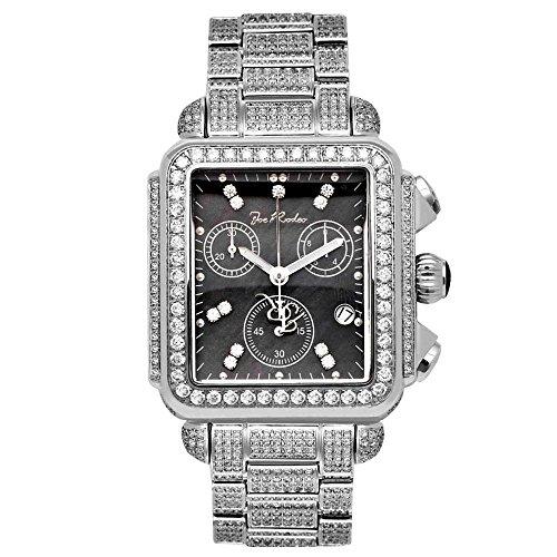 Joe Rodeo Diamond Ladies Watch - MADISON silver 10.25 ctw