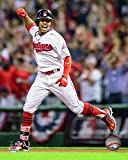 "Francisco Lindor Cleveland Indians 2016 ALDS Action Photo (Size: 8"" x 10"")"