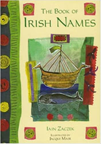 Book The Book of Irish Names