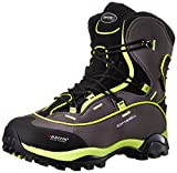 Baffin Women's Snosport Trekking Boot,Charcoal/Fluorescent Green,6 M US