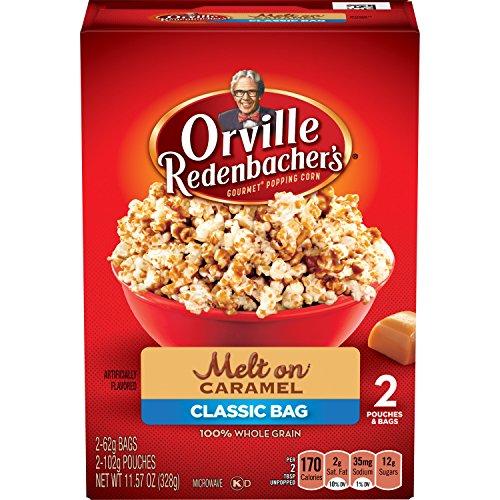 microwave caramel corn - 2