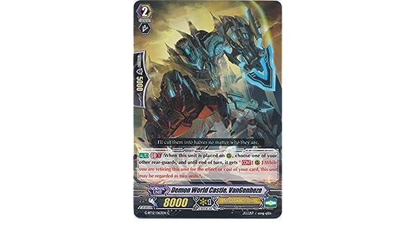 CARDFIGHT VANGUARD CARD VANGENBEZE DEMON WORLD CASTLE G-BT12//063EN C