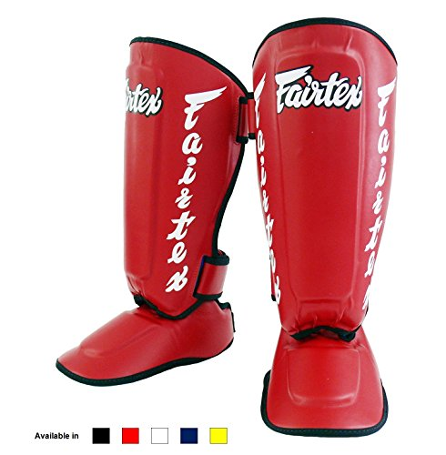 Fairtex Twister Shin Guards, SP7 - Detachable In-Step Shin Pads (A.K.A.