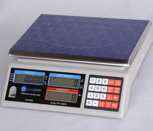 PS-C30KS-Portable-Counting-Scale-66-lbX-00002-lbCheckweigher-with-multiple-weighing-Units10-x-APW-memory-locationsNEW