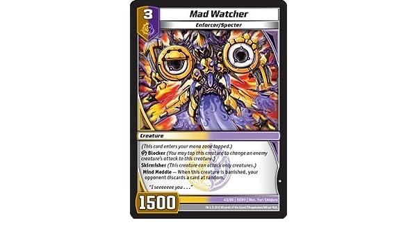 Kaijudo TCG - Mad Watcher (43/80) - Invasion Earth by Kaijudo: Rise of the Duel Masters: Amazon.es: Juguetes y juegos