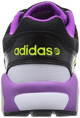 adidas Run9tis W - Zapatillas Deportivas Para Niña Cblack/Syello/Flapnk