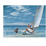 Ground Swell - Poster by Edward Hopper (30 x 24)