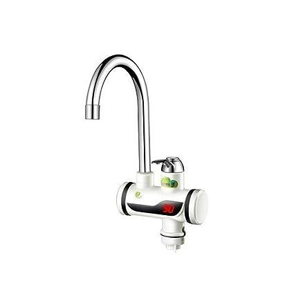 Effizient Eu Stecker Tankless Instant Wasserhahn Wasser Heizung Durchlauferhitzer Wasserhahn Küche Heißer Wasser Digitale Elektrische Heizung Wasserhahn Haushaltsgeräte Großgeräte