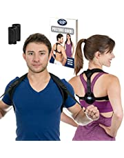 Posture Corrector for Women and Men | Best Fully Adjustable Upper Back Brace Trainer | Improves Slouching and Hunched Shoulders | for Maximum Support