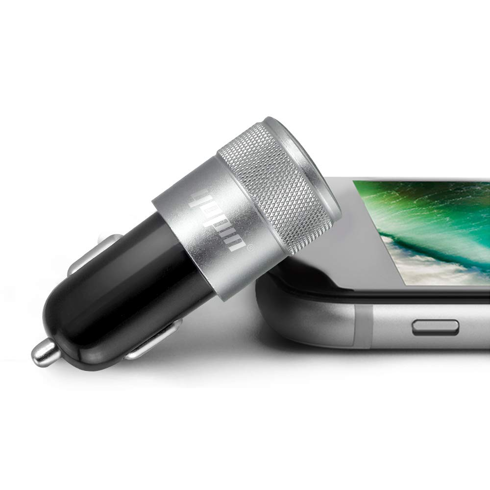 with Fast Charging Type C Cable Cord HTC,etc Designed for iPhone XR//XS//X // 8//7//6//6S Plus Samsung,LG,Nexus iPad Air Mini Pro Newseego Compatible with 3.1A Rapid Dual Port USB Car Charger Adapter