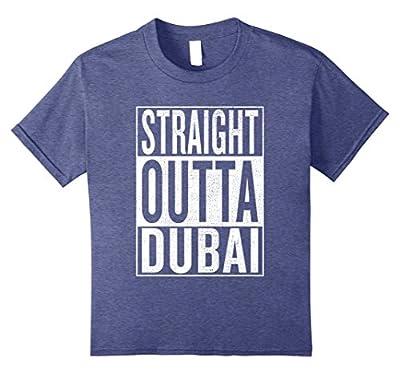 Straight Outta Dubai Great Travel & Gift Idea T-Shirt