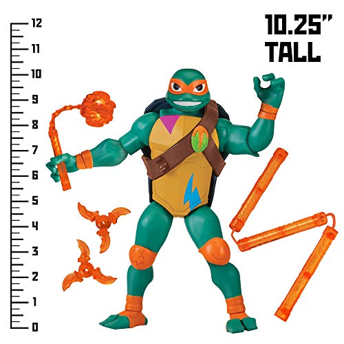 Rise of the Teenage Mutant Ninja Turtles Michelangelo Giant Figure