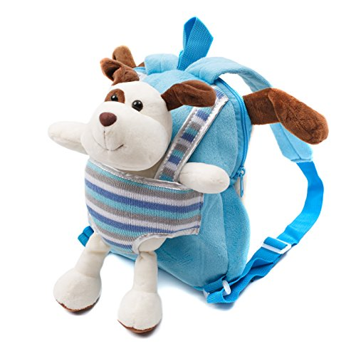Cute Toy Toddler Backpack – Kids Stuffed Animal Toy Backpack – Kids Backpacks For Boys And Girls With Plush Toy