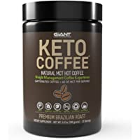 Keto Coffee - Gourmet Sugar-Free Complete Instant Coffee Drink with 6g of MCT for Low Carb, Ketogenic, and Paleo Diets…