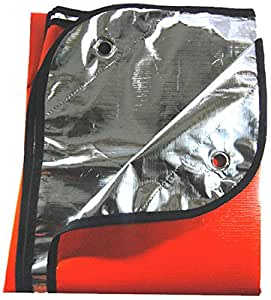 SE EB5982OR  Extra Heavy Duty Thermal Reflective Emergency Blanket (Orange)
