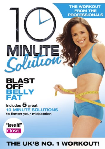 10 Minute Solution: Blast Off Belly Fat [DVD] (10 Minute Solution Blast Off Belly Fat)