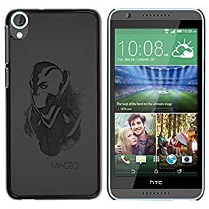 Be Good Phone Accessory // Dura Cáscara cubierta Protectora Caso Carcasa Funda de Protección para HTC Desire 820 // Magic