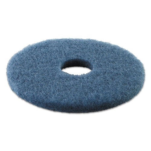 Premiere Pads Standard 13-Inch Diameter Scrubbing Floor Pads, Blue - Includes 5 pads per ()
