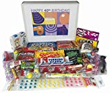 40th Birthday Gift Box of Retro Nostalgic Candy for Men and Women